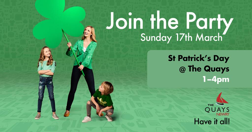 St. Patrick's Day at The Quays