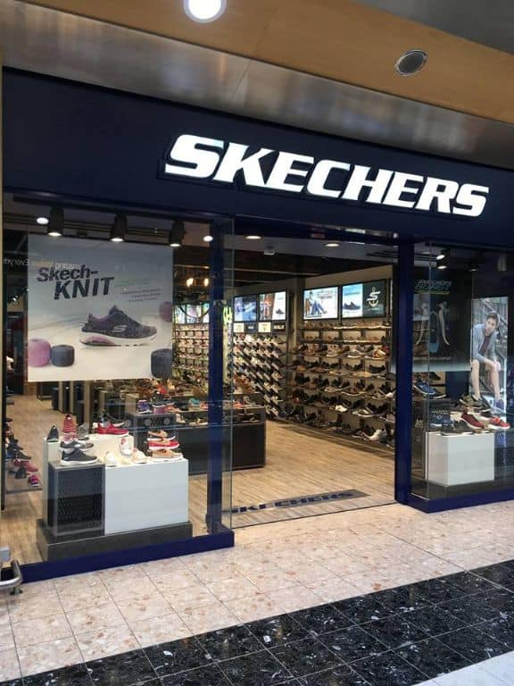 Skechers € for £ offer