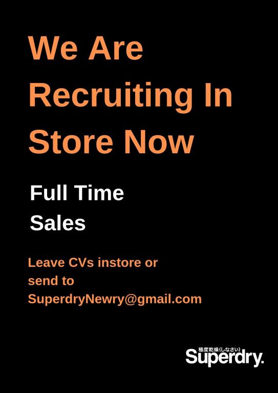 Full Time Sales Assistant at SuperDry